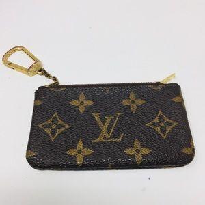 Preowned Authentic Louis Vuitton Mini Wallet